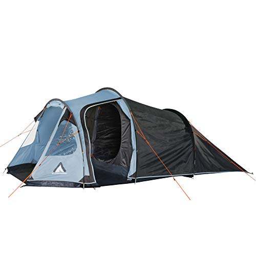 Mandiga Arona 10T Tente Tunnel 4 Personnes Tente de Camping étanche 5000 mm Tente familiale avec...