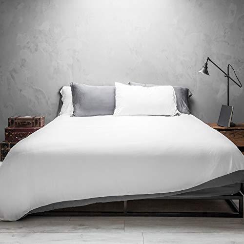Wooflinen 100% Bamboo Sheets 6 Piece Bed Duvet Set + Sheet Set - Breathtakingly Soft Sheets (Full)
