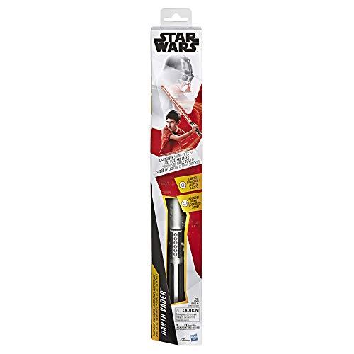 Star Wars - Sabre láser electrónico Rojo de Dark Vador-Jouet  (Hasbro E3997101)