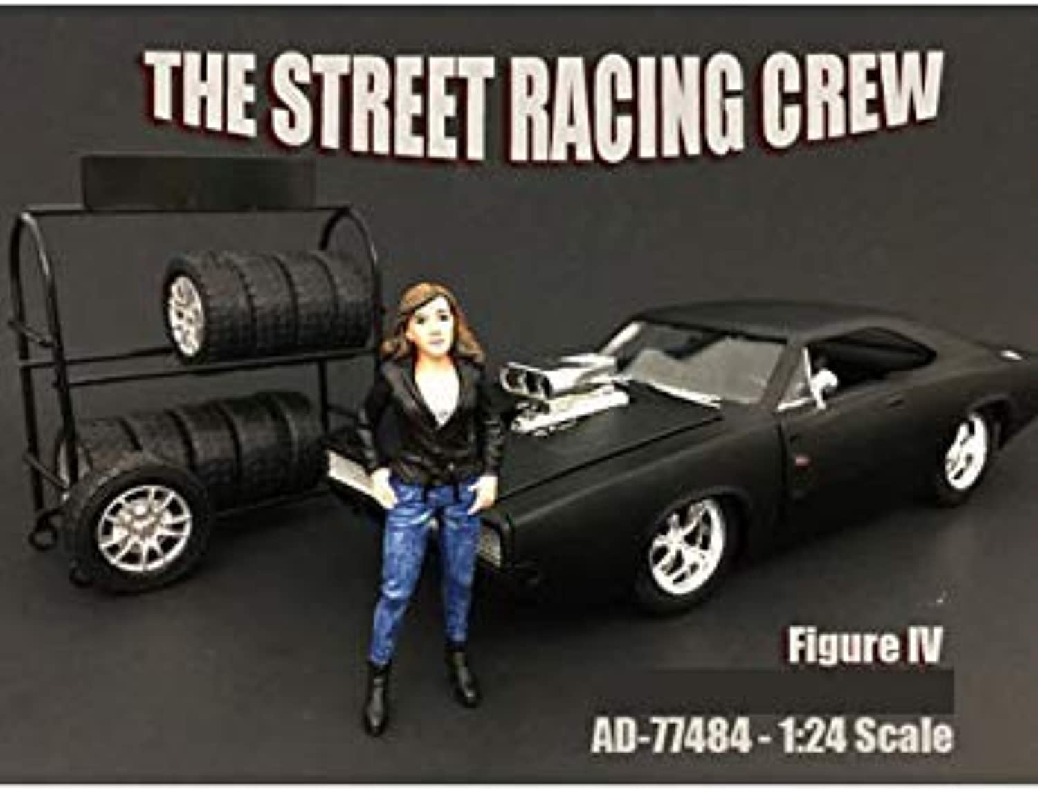 American Diorama Street Racing Crew Figure 477484 1 24 Scale Diecast Model Toy Car