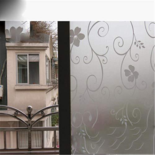 Nieuwste 2 M * 45 CM Frosted Ondoorzichtig Glas Raamfolie Voor Raam Privacy Zelfklevende Glas Stickers Home Decor Gemengde Kleur Slaapkamer, D