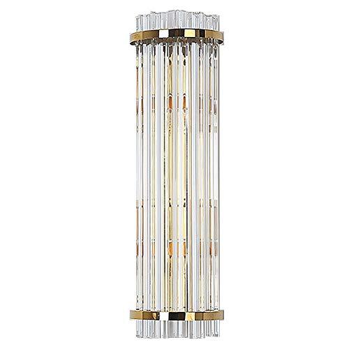 RXM creatieve kristallen wandlampen, moderne LED-zuil, woonkamer, hal, hotel, licht, warm goud (3500 – 5500K) 13,8 x 6,3 cm