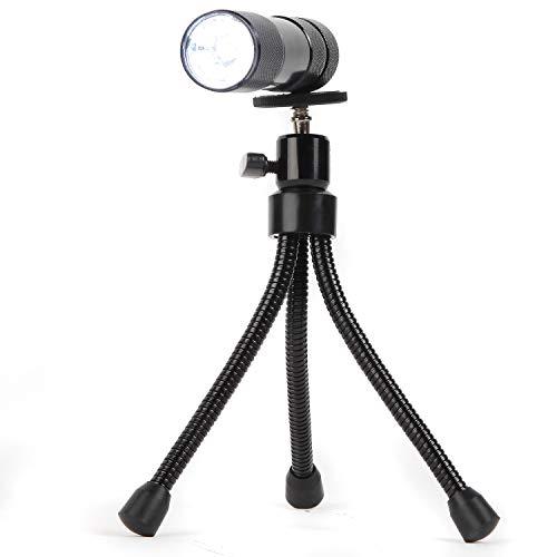 Trenton Gifts Flexible Tripod with Detachable LED Flashlight