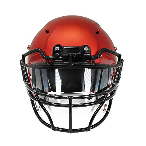 Grid-D-Flect Football Helmet Face Shield - a Full eyeshield Visor That Acts as Eye and Mouth Protection Against Sweat, spit, coughs, and Sneezes for a Football Player's face Area