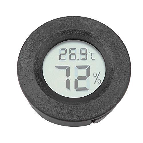 Zerodis Mini Digitales LCD Thermometer Hygrometer für Haustiere, elektronisch, Luftfeuchtigkeit Temperaturmessgerät Thermo Hygrometer für Inkubatoren Reptilien Zuchtbox
