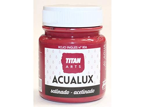 Industrias Titan. S.L 920806 - Pintura manualid. acril. 100 ml ro/in satin....