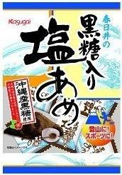 春日井製菓 黒糖入り塩あめ* 90g×6袋入