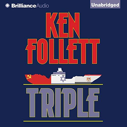 Triple audiobook cover art