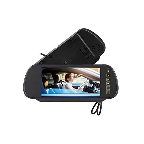Lazmin112 7 Pollici Specchio Dash Cam per Auto, Auto specchietto retrovisore LCD Auto oscuramento Monitor con Staffa