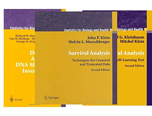 Statistics for Biology and Health (19 Book Series)