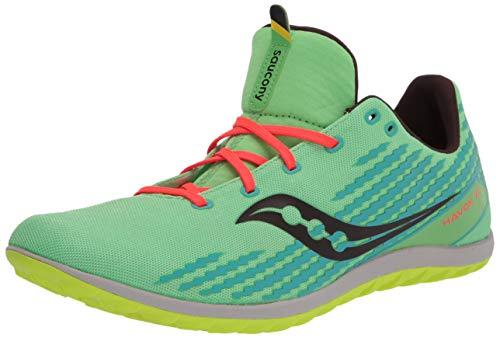 Saucony mens Havok Xc3 Flat Cross Country Running Shoe, Green Mutant, 9.5 US