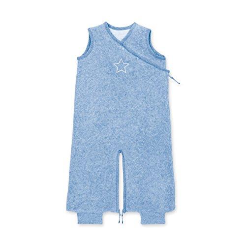 Bemini by Baby Boum 154BMINI62TM Schlafsack Terry Shade, 3-9 Monate, blau