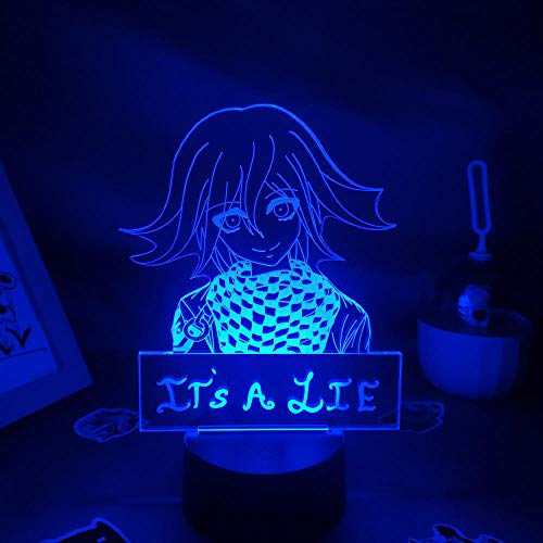 3D Night Light Anime 3D Night Light Anime 3D Night Light Anime Character Night Light Fun Gift for Friends RGB Game Lava Lamp Bedroom Table Decoration Birthday gift for Children