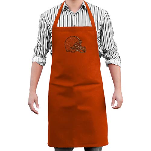 NFL Cleveland Browns Victory Apron, One Size Fits Most, Orange