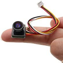 Electronic Module 1.8mm FOV 170 Degree Wide Angle Mini FPV Camera-pal/NTSC 5V-12V Step Down Regulator 1/4 600TVL (Color : ...