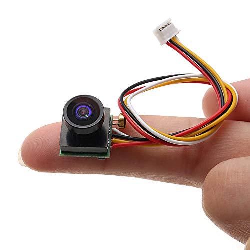 XCQ 1/4 600TVL 1.8mm FOV 170 Grad Weitwinkel Mini FPV-Kamera - PAL/NTSC 5V-12V Schritt Down-Regler langlebig 1121 (Color : PAL)