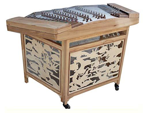 Log Color Dulcimer Instrument Yangqin für professionelle Leistung und Unterricht.