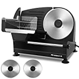 Best Meat Slicers - Meat Slicer, Anescra 200W Electric Deli Food Slicer Review