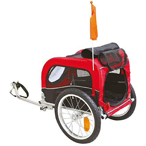 CROCI Pratique Roulotte de Vélo pour Chien 52 x 116 x 61 cm