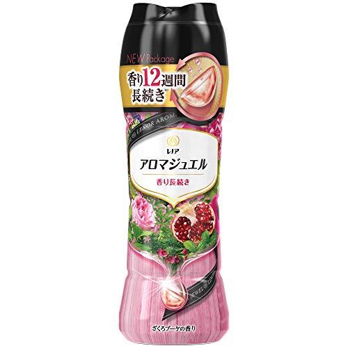 レノア ハピネス アロマジュエル 香りづけ専用ビーズ ヘビロテ服も新鮮な香り長続き ざくろブーケ 本体520mL