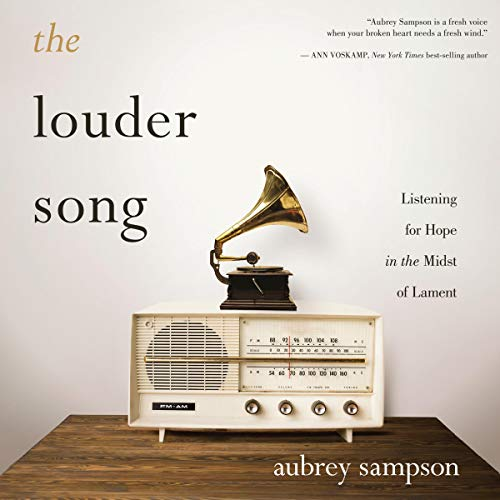 The Louder Song audiobook cover art