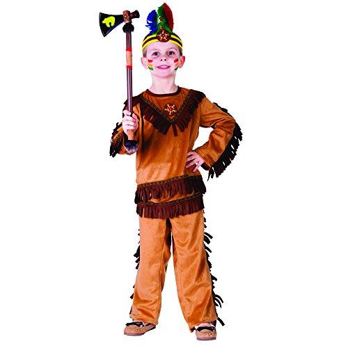 Dress Up America Costume de guerrier indien