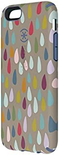 Speck CandyShell Inked Hard Shell Clip-On Case Cover for iPhone 6/6S (4.7 Inch) - Rainbow Drop/Beaming Orchid Purple