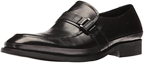 Kenneth Cole REACTION Men& 039;s Hit The Brick Slip-On Loafer, schwarz, 12 M US