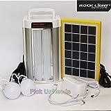 Pick Ur Needs® Rocklight Emergency Portable Inverter/Multi-Function Portable Power Solar Energy Save Home