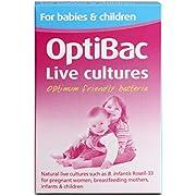 OptiBac For Babies & Children | 3 Billion CFU Daily Flavourless Supplement | Lactobacillus Acidophilus Rosell-52, Bifidobacterium Infantis Rosell-33 & Bifidobacterium Bifidum Rosell-71 | 30 Sachets