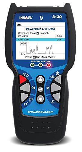 Innova 3130f OBD2 Scanner / Car Code Reader with ABS, Live Data, Battery Reset, and Service Light Reset