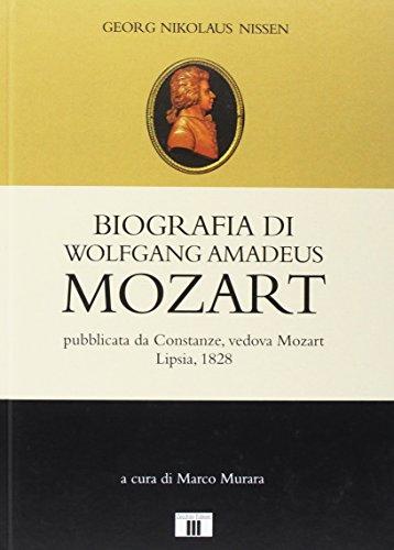 Biografia di Wolfgang Amadeus Mozart