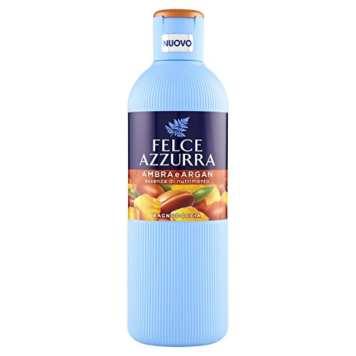 Fougère bleue bagnodoccia Ambre & argan- 6 Paquets de 650 ml – Total : 3900 ml