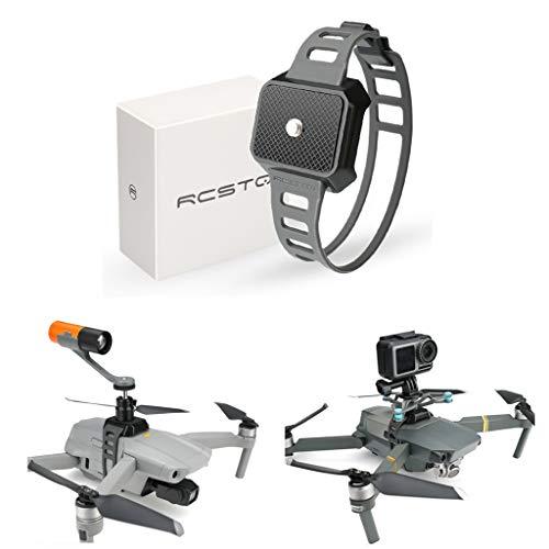 CUEYU Universal Schnalle Zubehör für DJI Mavic Air 2 Drohne, Halterung für Kamera und Taschenlampenschnalle für DJI Mavic Air 2, Mavic 2, Mavic Pro, Fimi X8 SE und Autel EVO 2 Entwickelt