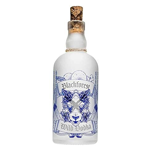 Blackforest Wild Vodka 40{49822bd211616ee9e17192bbbea5b07725fd5af4d18d314a8ec398c845401a80} Vol. (1 x 0,5 l) - Brennerei Wild aus Gengenbach - Schwarzwald Premium Vodka - Handcrafted und extrem reiner Premium Vodka