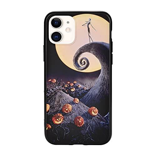 La pesadilla antes de Navidad teléfono caso para iPhone 11 funda protectora del teléfono Tpu cubierta a prueba de golpes compatible iPhone 11-6.1