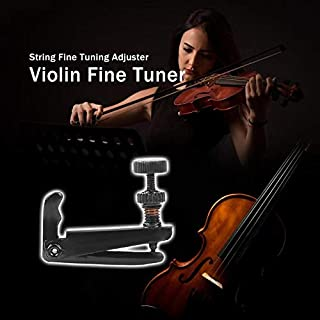 Best Design Copper Violin Fine Tuner String Tuning Adjuster Musical Instrument Black, Tailpiece Inlay, String Instruments, In String, M W, Erhu Strings, Erhu String, Pegs Gold, Erhu Tuning