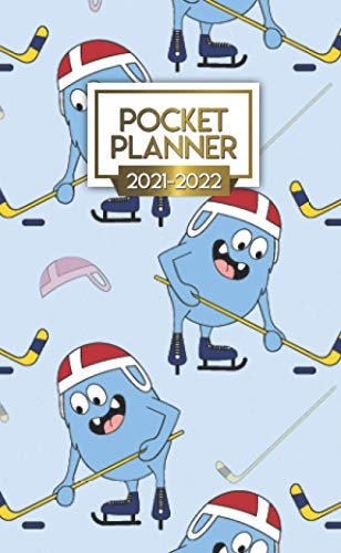 Pocket Planner 2021-2022: Small Two Year (24 Month) Calendar Organizer Agenda with...