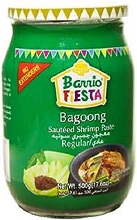 Barrio Fiesta Sauteed Shrimp Paste Regular, 500 gm