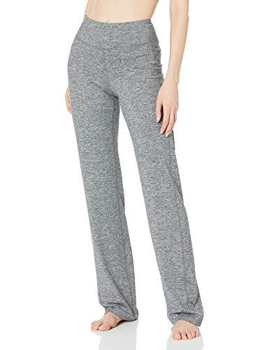 C9 Champion Women's Curvy Fit Yoga Pant, Ebony Heather - Long Length, L