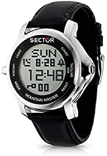 Sector Reloj analogico para Hombre de Cuarzo con Correa en Piel R3251121025