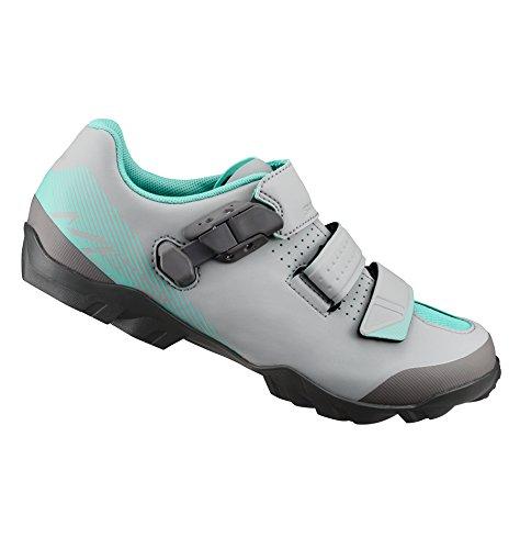 SHIMANO SHME3PG440WG00 - Zapatillas Ciclismo, 44, Gris - Verde, Mujer