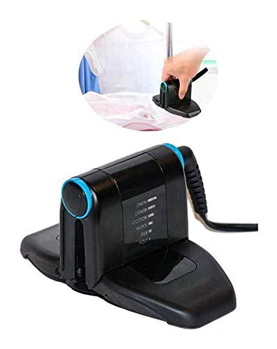 Buy Bargain WANG XIN Electric Iron Hanging Ironing Machine Mini, Garment Steamer Handheld, Hand Steamer Clothes Travel Quick Heating, Steam Iron for Home and Travel,Black