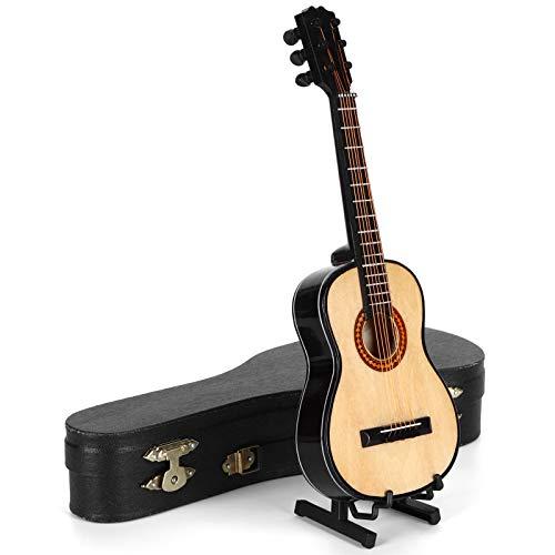 Con soporte de guitarra Altamente simulación Con estuche de guitarra con soporte...