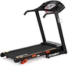 ECHANFIT Treadmill Folding Electric Motorized Running Machine 17'' Wide Tread Belt 8.5 MPH Max Speed LCD Display and Cup Holder Easy Assembly with 15 Preset Programs Perfect for Home Use