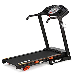 "ECHANFIT Treadmill Folding Electric Motorized Running Machine 17"" Wide Tread Belt 8.5 MPH Max Speed LCD Display and Cup…"