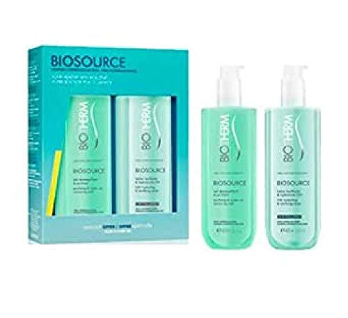 Biotherm Biosource Duo Set für normale Haut und Mischhaut 400ml + 400ml