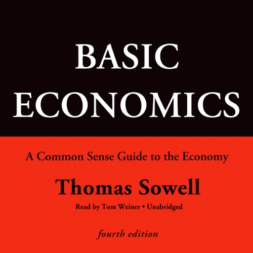 Page de couverture de Basic Economics, Fourth Edition