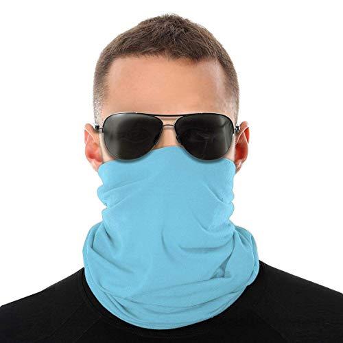 AOOEDM Bandanas cara para hombres mujeres antipolvo Color azul brillante al aire libre, festivales deportivos, polaina de cuello, pasamontañas transpirable