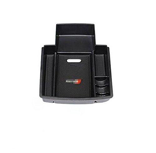 Caja de almacenamiento para reposabrazos de coche, bandeja de consola central organizadora para A4 A5 B8 2012-2017